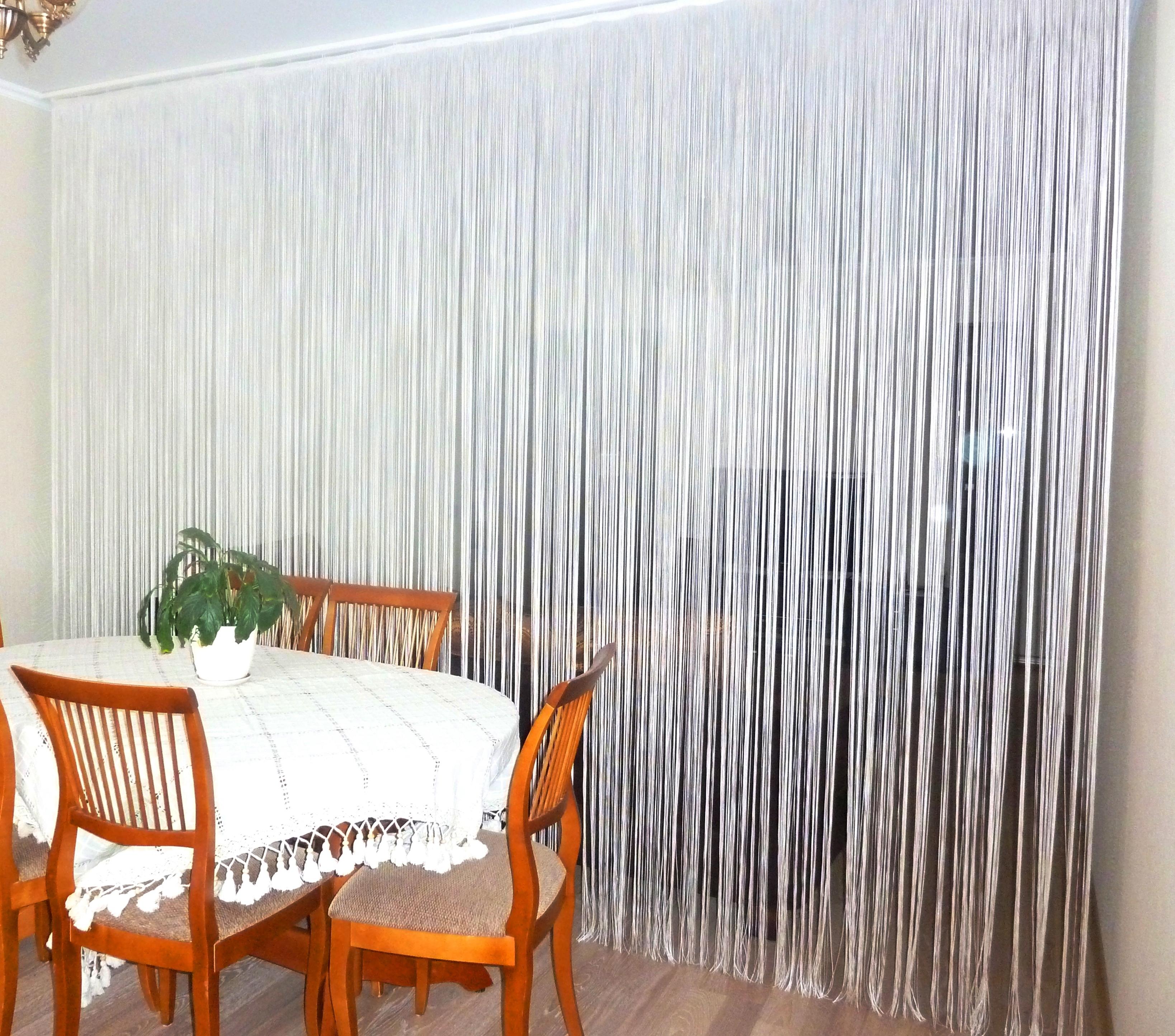 шторы нитки на кухне фото любой день любой